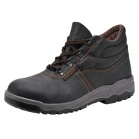 Image for Portwest S1P D Ring Chukka Boots Steel Toecap & Midsole Leather Slip-resistant Size 11 Ref FW10SIZE11