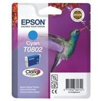 Epson Hummingbird Claria Photographic Ink Cyan T0802