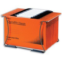 Image for Rexel Crystalfile Desk Organiser for 40 Suspension Files A4 or Foolscap Ref 3000077
