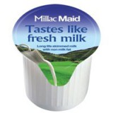 Lakeland UHT Full Fat Milk Pots Pack 120