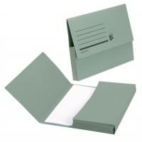 Image for 5 Star Document Wallet Fcap 285gm Green