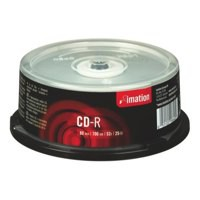 Image for Imation CD-R 700Mb/80minutes 52X Spindle Pack of 25 18646
