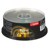 Image for Imation DVD+R 4.7Gb 16X Spindle Pack of 25 i21749