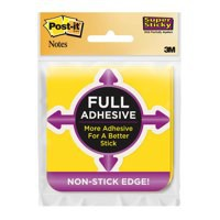 Image for 3M Post-it SS Full Adhesive Notes 76 x 76 Assorted Pk 2