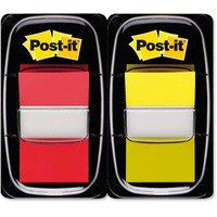 Image for 3M Post-it Index 1 inch Dual Pk Red/Yellow 680-RY2