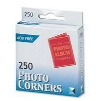 Image for Photo Album Corners White Pk250 PC250