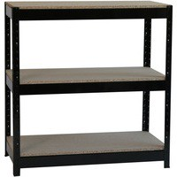 Image for &FInfluxHD Bltls 3 Shelf Frm Unit Blk