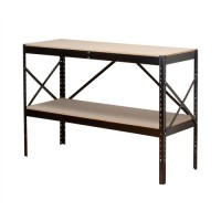 Image for Influx Packing Bench Boltless with Adjustable Shelf W1320xD500xH938mm Black