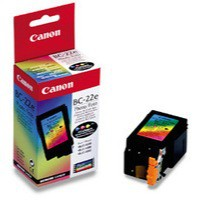 Canon Bubble Jet BJC-5100/5500 Photo Inkjet Cartridge Colour BC-22E 0902A002AA
