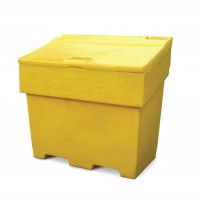 Image for Bentley Grit and Salt Bin Polyethylene Capacity 350kg 200 Litres Weight 22kg Ref SPC/GRIT400