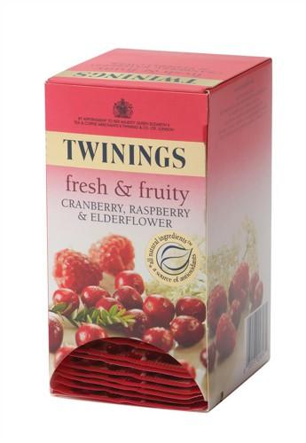 Twinings Cranberry & Rasburry Tea Quantity 20 Bags Code A01865