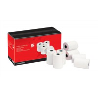 Image for 5 Star Adding Machine Roll 2-Ply 55gsm W57xD57xCore12.7mm White/White [Pack 20]