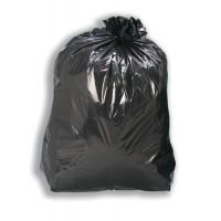 Image for 5 Star Bin Bags Medium Duty 100 Gauge 457x737x991mm Black Ref  [Pack 200]