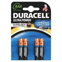 Image for Duracell Ultra Power MX2400 Battery Alkaline 1.5V AAA Ref 81235511 [Pack 4]