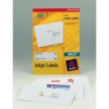 Avery Quick DRY Addressing Labels Inkjet 1 per Sheet 199.6x289.1mm White Ref J8167 [100 Labels]
