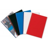 GBC Polycovers Opaque Binding Covers Polypropylene 300 Micron A4 Black Code IB386831