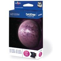 Brother Inkjet Cartridge Page Life 300pp Magenta Code LC1220M