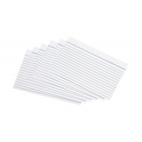 Image for 5 Star Record Cards 152x102mm Wht Pk100