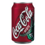 Coca Cola Coke Soft Drink Can 330ml Pack 24