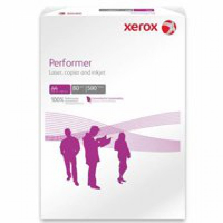 Xerox Performer 80gsm A4 White Paper Pack 500 Code 003R90649