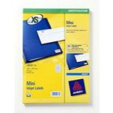 Avery Mini Labels Inkjet 270 per Sheet 17.8x10mm White Ref J8659REV-25 [6750 Labels]