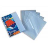 GBC A4 Binding Covers 200micron Polypropylene Frosted Clear Pack 100 Code 2100536E