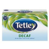 Tetley Tea Bags Decaffeinated High Quality Pack 160 Code A06070
