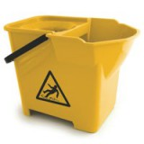 Bentley Colour Coded Mop Bucket Heavy Duty 16 Litre Capacity Yellow Code SPCMB16Y