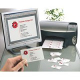 Avery Quick and Clean Mono Laser Business Cards 10 Per Sheet White 250 Cards Code C32011-25