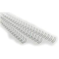 GBC Binding Wire Elements 34 Loop 14.3mm Silver Pack 100 Code RG810997