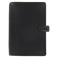Image for Filofax Finsbury Personal Organiser for Paper 95x171mm Personal Black Ref 025302