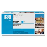 HP No.645A Laser Toner Cartridge Cyan Code C9731A