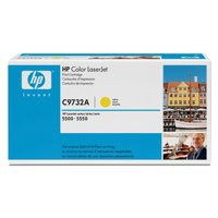 Image for Hewlett Packard [HP] No. 645A Laser Toner Cartridge Page Life 12000pp Yellow Ref C9732A