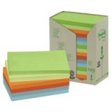3M Post-it Notes Recycled Pastel Rainbow Pads Code 655-1RPT
