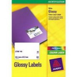 Avery Colour Laser Labels 99.1x67.7mm 8 Per Sheet White 320 Labels Code L7765-40