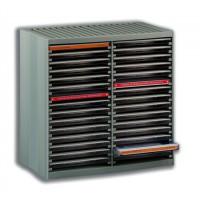 Image for CD Storage Spring Case for 30 Disks Grey