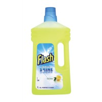 Image for Flash All Purpose Cleaner for Washable Surfaces 1 Litre Lemon Fragrance Ref N05865