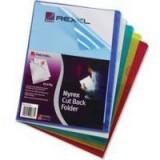 Rexel Nyrex Cut Back Folder PF/A4/C Assorted Pack 25 Code 12131AS