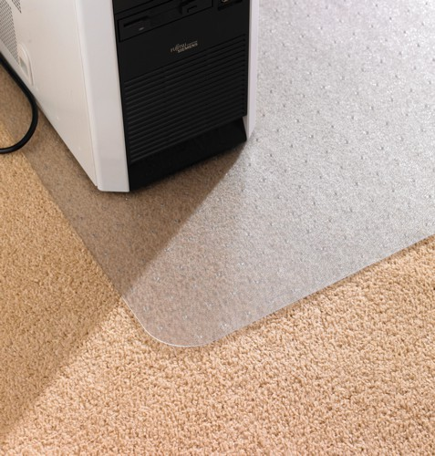 chair mat for carpet protection anti static with lip 1150x1340mm