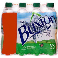 Buxton Natural Mineral Water Bottle Plastic 500ml Still Code A01708