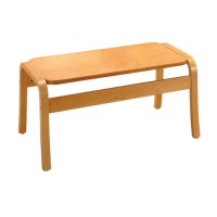 Image for Trexus Reception Coffee Table Rectangular Wooden W900xD450xH430mm Beech