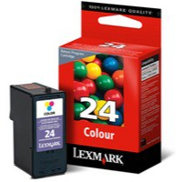 Lexmark No. 24 Inkjet Cartridge Return Program Page Life 185pp Colour Ref 18C1524E