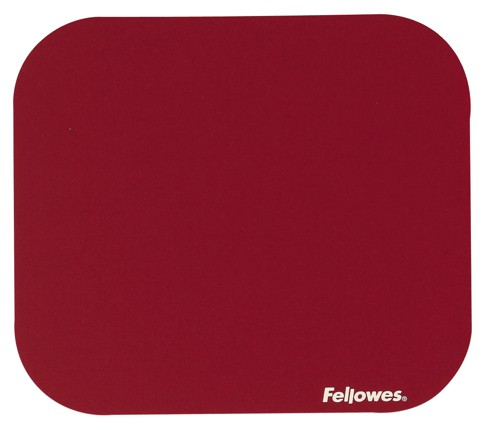 Fellowes Mouse Pad Solid Colour Red Code 58022-06