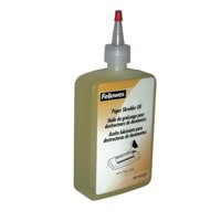 Image for Fellowes Shredder Oil for all Cross-cut Shredders Bottle 350ml Ref 35250