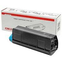 OKI Laser Toner Cartridge Page Life 2500pp Black Ref 43459324
