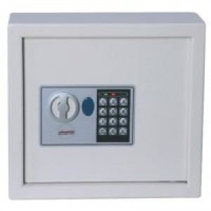 Phoenix 0031 Key Safe Electronic with Fixings Keyrings and Tags 144 Keys 21kg W430xD130xH660mm Ref KS0033