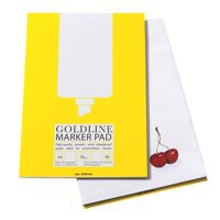 Image for Goldline A4 Bleedproof Marker Pad GPB1A4