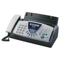 Image for Brother Thermal Fax Machine T104 9.6Kbps Modem 0.25Mb Memory 2.7Kg W302xD186xH132mm Ref FAXT104U1