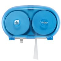 Lotus Ensure Compact Dispenser Wall-Mounted For Coreless Toilet Roll Lockable Blue Code 5022250