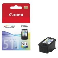 Canon CL-511 Colour Ink Cartridge 9ml Code 2972B001